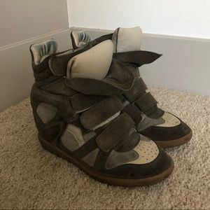 Isabel Marant Bekett Sneaker with Wedge